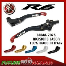 KIT LEVE REGOLABILI EVO II ERGAL YAMAHA R6 99 00 01 02 03 04 LEVER ADJUSTABLE