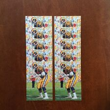 Jackie Slater Rams Lot of 10 unsigned Goal Line Art Cards