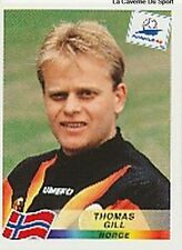 N°084 THOMAS GILL NORGE NORWAY PANINI WORLD CUP 1998 STICKER VIGNETTE 98