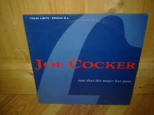"JOE COCKER now that the magic has gone 12"" MAXI 45T PROMO"