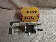 Vintage South Bend No. 550 Fishing Reel in Original Box     (B 10)