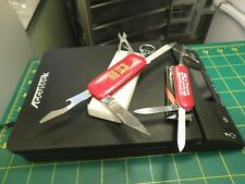 Vtg.Gold Eagle 4 Blade Key Chain & Other Unmarked 3 Blade Multi-Tool w/Tweezers