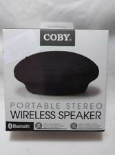 COBY PORTABLE STEREO WIRELESS SPEAKER BLUETOOTH CSBT-300 FREE FAST SHIPPING