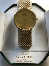 Beautiful 9k Solid Gold Gents Watch 2006 In Excellent Working Condition.