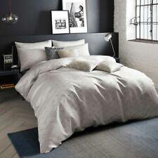 Linen DANUKA Geometric Jacquard Double Duvet Quilt Cover Bedding Set