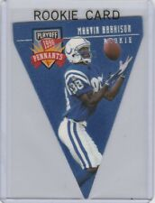 MARVIN HARRISON ROOKIE CARD 1996 Playoff Pennants INSERT FOOTTBALL RC Colts!