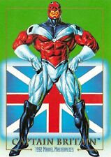 CAPTAIN BRITAIN 1992 Marvel Masterpieces BASE Trading Card #15 Art by JOE JUSKO