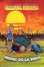 NVI Biblia de los Super Heroes (con insertos de color)