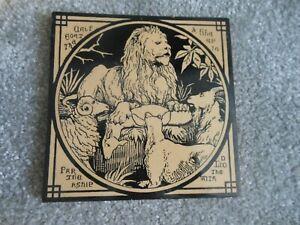 Mintons Antique Tile - Aesops Fables