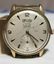 orologio vintage WERTEX unitas UT 6310 oversize uomo funzionante swiss made