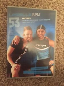 Les Mills RPM 53 CD, DVD, Notes cycling spinning