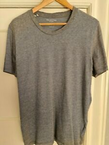 Men's Selected Homme Extra Large Blue T-Shirt