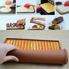 Silicone Baking Mat Diy Cake Pad Non-Stick Oven liner Swiss Roll Bakeware Teu Wl