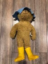 Paddington Bear, 1977 Stuffed Animal, Original, Used