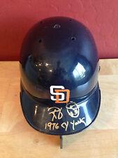 RANDY JONES Autograph Baseball Mini Helmet ~ RIDDELL ~ JSA Authentic ~ Auto