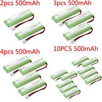 EBL Lot 500mAh Cordless Phone NI-MH Battery For Vtech BT18443 BT28443 LS-62255