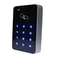 Keypad Access Control indoor lighted Stand Alone Wiegand soft touch 12VDC