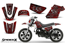 YAMAHA PW50 CREATORX GRAPHICS KIT DECALS SPIDERX RED W