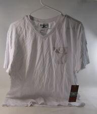 men new Jordan craig legacy edition v neck tee white tee Size L *