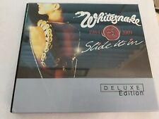 Whitesnake - Slide it in CD DVD 25th anniversary Deluxe edition w/ extra Tracks