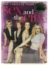 Sex and the City The Complete Third Season DVD 2002 3 Disc Set New Sealed HBO
