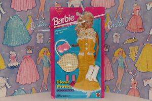 BARBIE PICNIC PRETTY FASHIONS MATTEL #12596 1994 NRFP NOS
