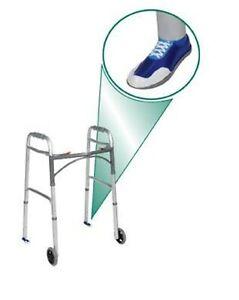 Drive Medical Sneaker Walker Glides Stylish Tennis Shoe Glides for Walker 1 Pair