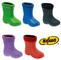 Befado girls boys kids wellies soft lightweight wellington boots 5.5 - 11 UK