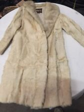 VINTAGE ANTIQUE FUR JACKET BIBER FURS SYDNEY COAT