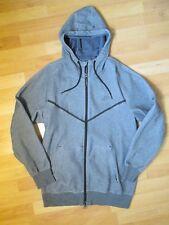 NIKE Mens Grey Full Zip Up Hooded Jacket  Size L