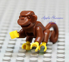 NEW Lego Pirate Minifig MONKEY - Minifigure Reddish Brown Pet Animal 6242 6243