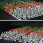 100 Pcs Military Plastic Soldiers Army Men Tan Figures 6 Poses Children Toy Hot