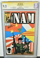 The Nam #7 1987 CGC Grade 9.2 Signature Series Signed by Michael Golden