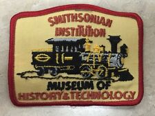 Smithsonian Institution Patch Museum of American History - Vintage Rare patches