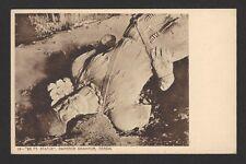 Emperor Shahpur 20ft Statue vintage postcard