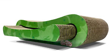New listing Cat Scratcher Infinity Lounge Corrugated Cardboard Is Reversible With Additional