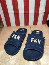 MENS FRISKY Size 9 US comfy pair of Sandals Navy 42 EURO