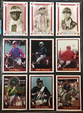 107 1990s Jockey Sports Trading Cards