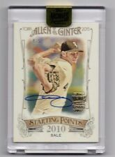 Chris Sale  # 4 / 5 Topps Archives ENCASED Topps Allen & Ginter Autograph