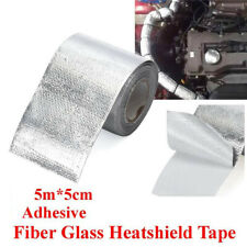 Silver 2'' Thermal Exhaust Reflective Adhesive Tape Heat Insulation Shield Wrap