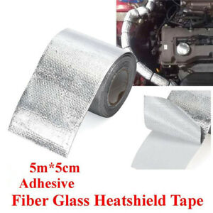 Car Silver Aluminum Foil High Temperature Wrap Tape Reflective Heat Tape Barrier
