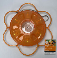 3-in-1 Oriole Feeder 14 oz. Great for Nectar, Jelly and Oranges Leak Resistant
