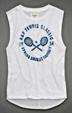 ABERCROMBIE & FITCH HOLLISTER ASOS KIRA TENNIS TOURNAMENT TANK TEE TSHIRT TOP M!