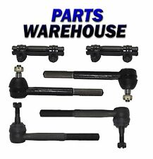 6pc Brand New Tie Rod End With Adjusting Sleeve (2WD ONLY) 2 YEAR WARRANTY