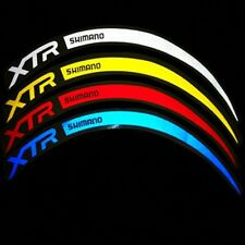 XTR Bike Wheel Decals Rim Stickers Set of 12 MTB Racing Cycle 26/27.5/29""