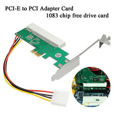 PCI Express PCI-E to PCI Adapter Card Asmedia 1083 Chipset Fess Drive Card