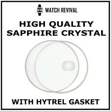 HIGH QUALITY SAPPHIRE CRYSTAL GLASS FOR ROLEX DATEJUST 16203 WATCH WITH GASKET