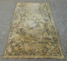 Large Vintage French Beautiful Romantic Scene Tapestry 186X119cm (A555)