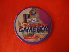Super Game Boy Adapter Lenticular Promotional Button Pin Back Promo