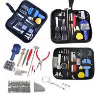 16pcs Watch Repair Tool Kit Link Remover Spring Bar Tool Case Opener Set New
